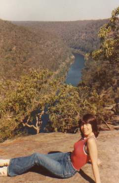 Rosemary Wray and the Hawkesbury River