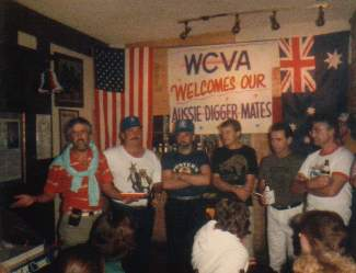 Windy City Veterans Association Welcome party, Chicago