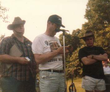 Brian, Tom and Gene, at WCVA picnic
