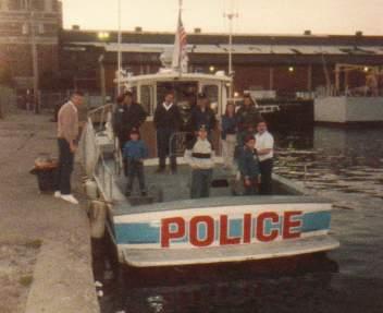 Chicago Police patrol boat