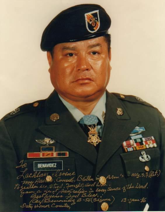 Roy P Benavidez CMH