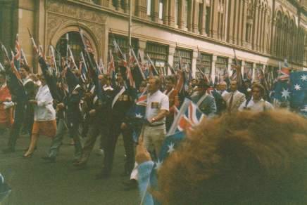 Welcome Home Parade, Sydney 1987
